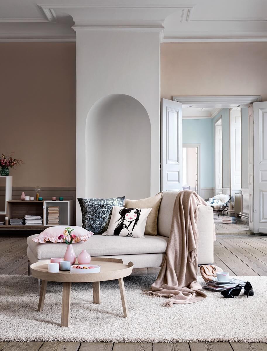 10 jolis intérieurs dans des tons nude   frenchy fancy