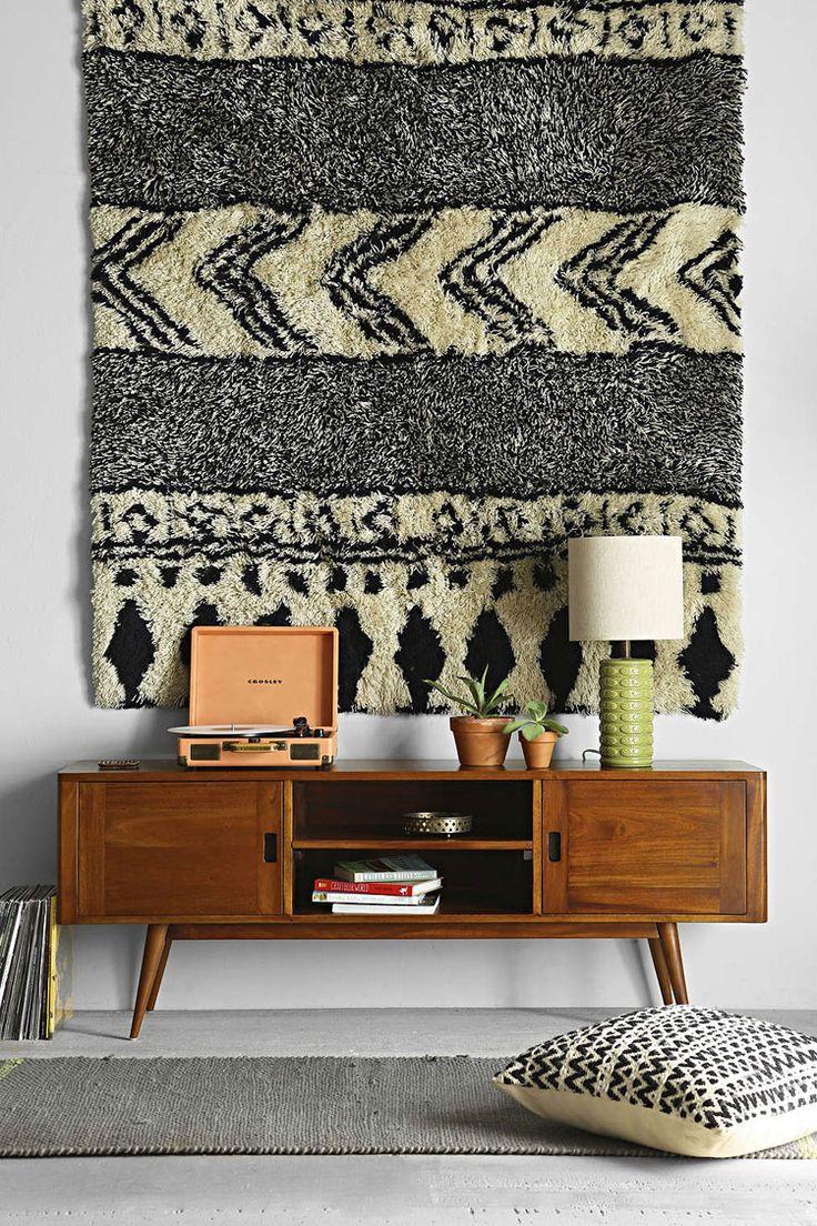 Utiliser un tapis en décoration murale