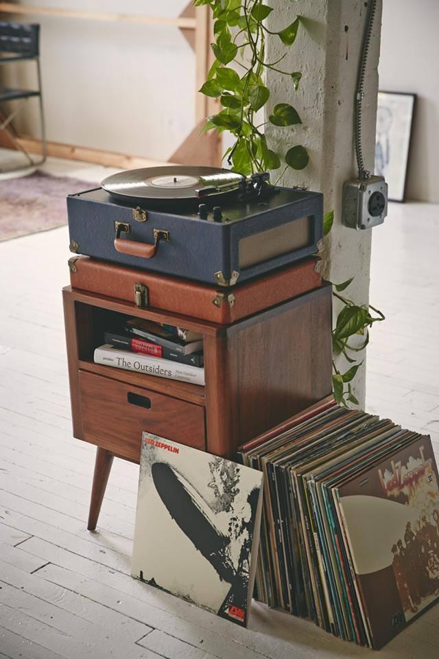 Tendance : les platines vinyles