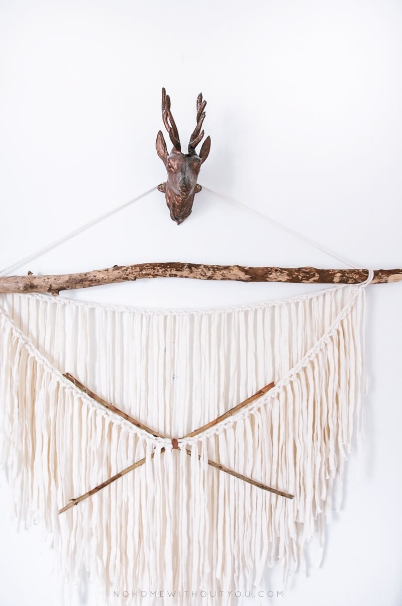 DIY tissage style ethnique