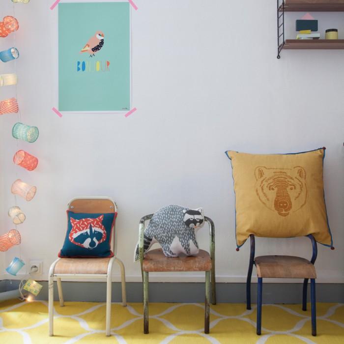 Chaise vintage pour enfant