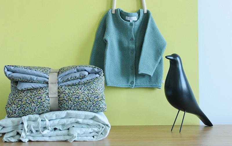 Textile pour bébé chez Lab Boutique