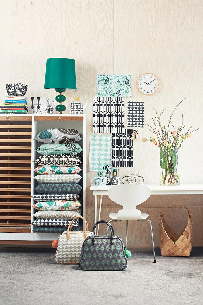Textile scandinave pour la maison