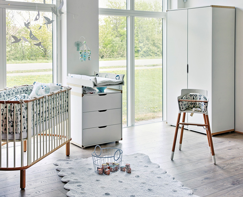 Du design scandinave pour les kids flexa frenchy fancy for Chambre de bebe design