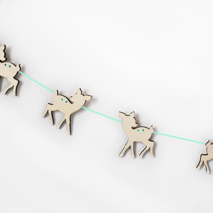 Guirlande décorative pour chambre d'enfants