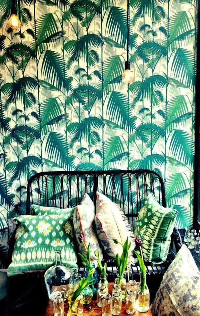 Tendance papier peint tropical