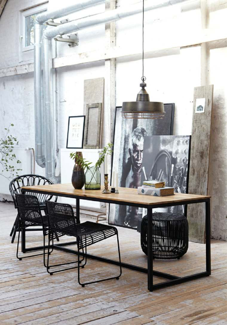 Le style industriel en soldes frenchy fancy - Decoration industrielle maison ...