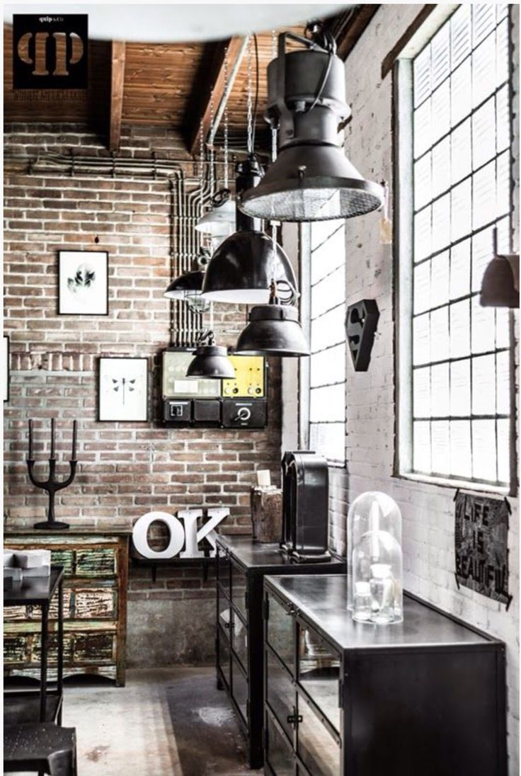 Le style industriel en soldes frenchy fancy for Deco loft industriel