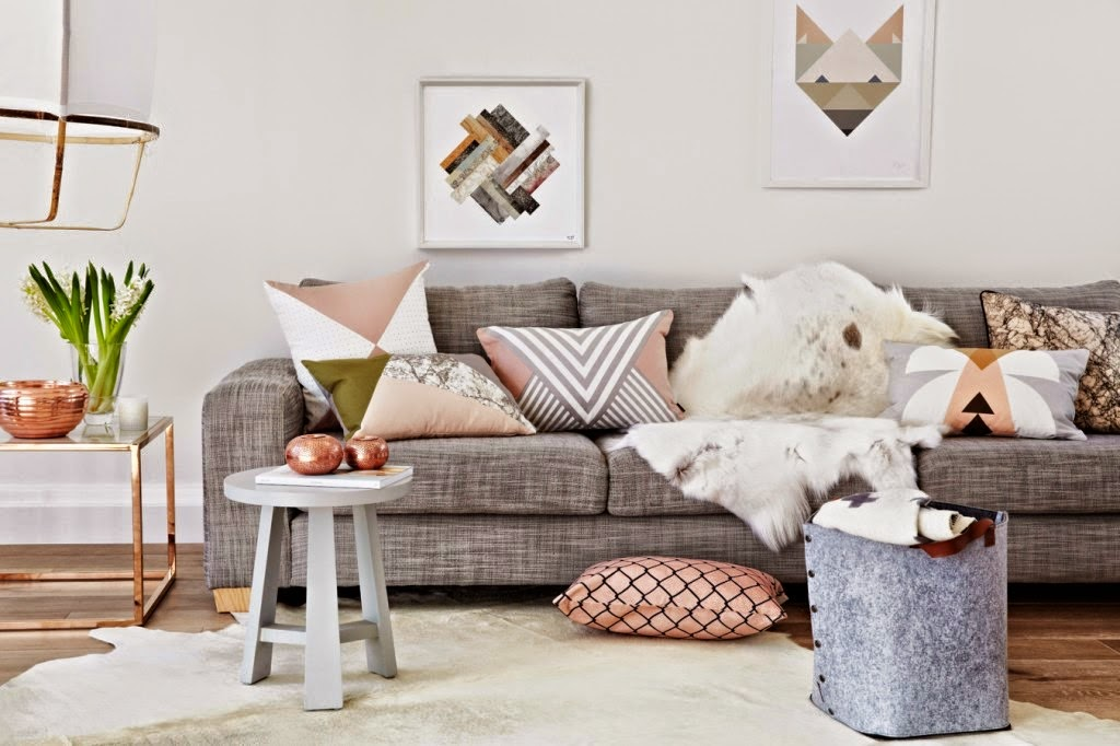 Le style scandinave en soldes frenchy fancy for Tableau salon scandinave