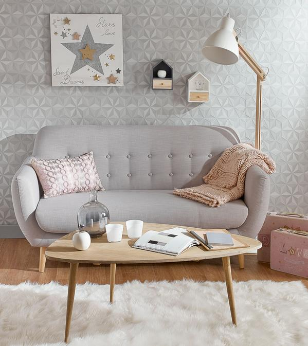 Le style scandinave en soldes frenchy fancy for Salon scandinave gris