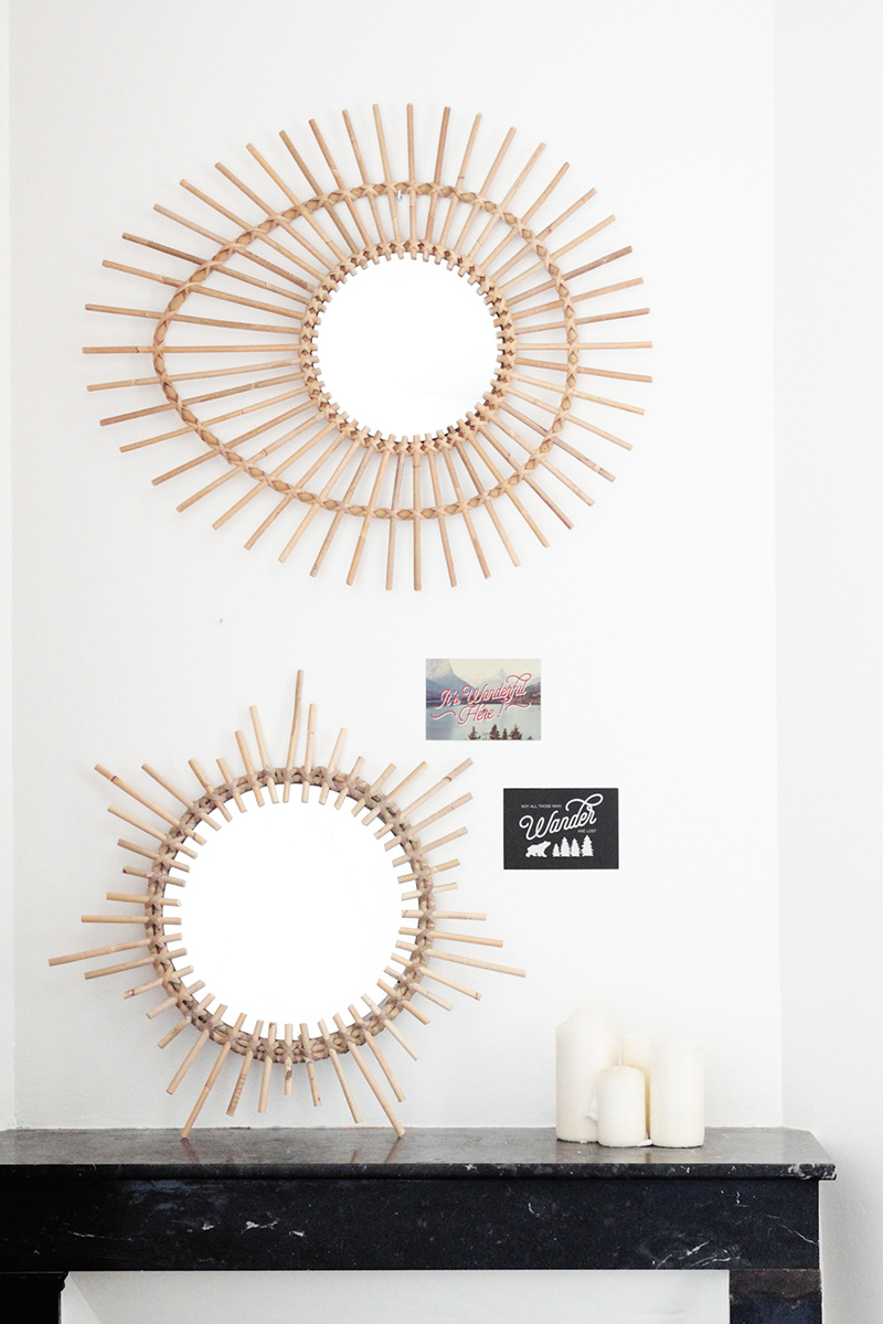 DIY miroir soleil
