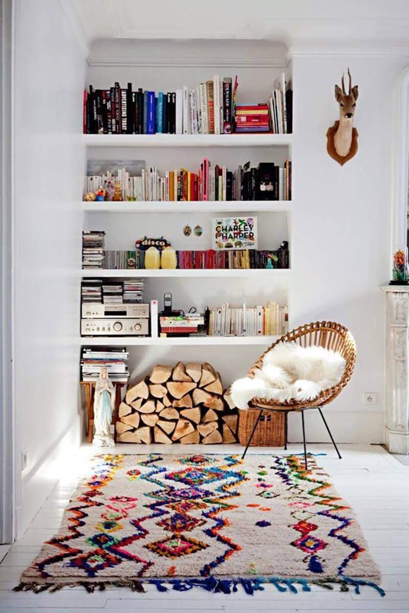 Tendance : les tapis berbère