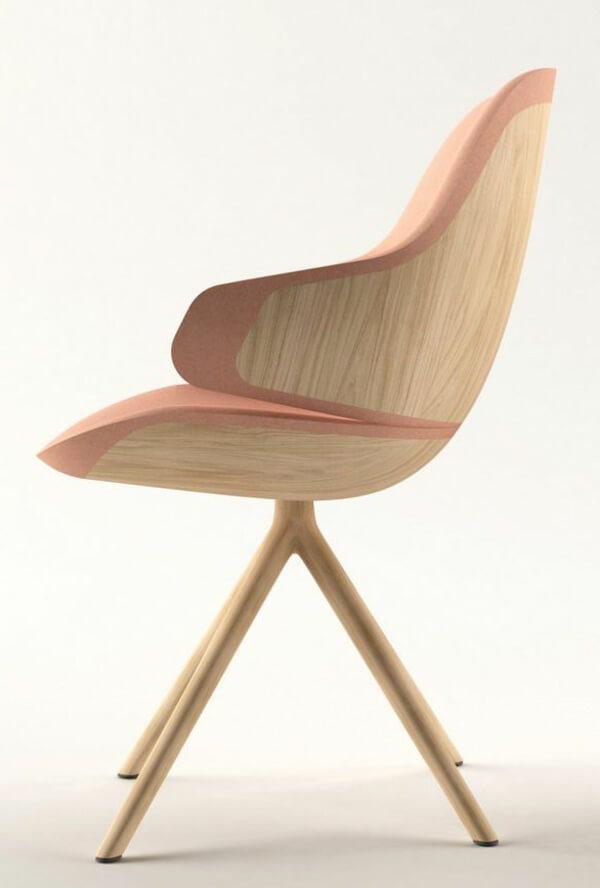Chaise en bois design