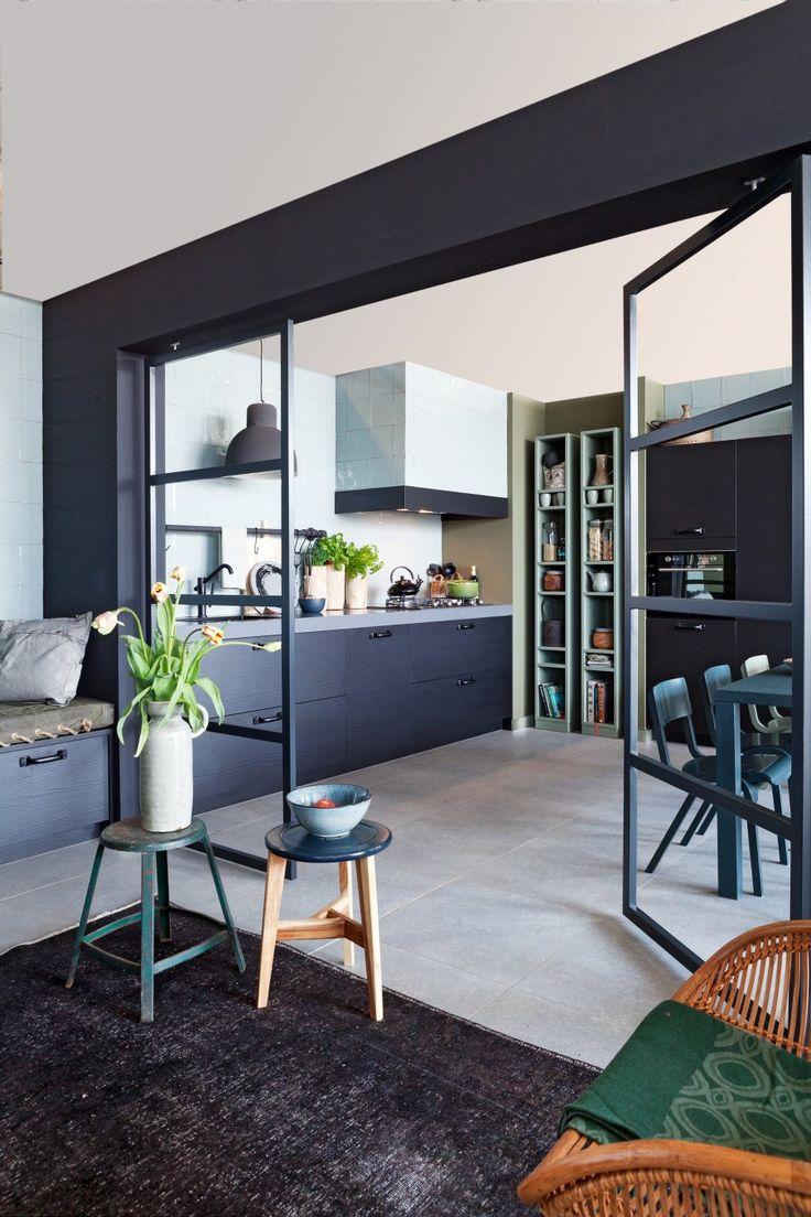 Emejing Porte Interieur Vitree Noire Photos - Home Decorating ...