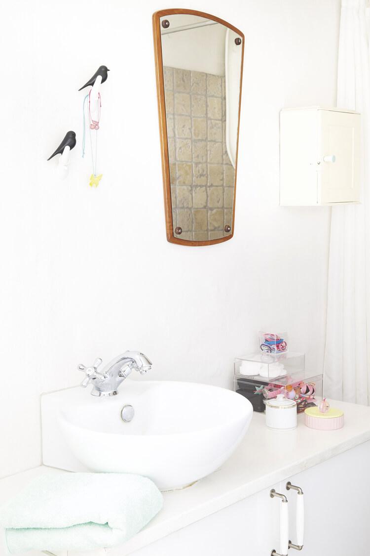 Salle de bain style rétro vintage