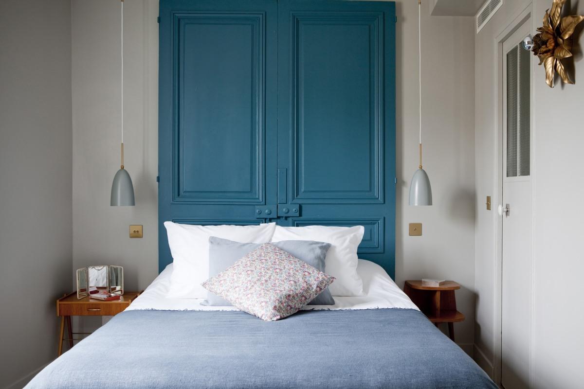 Recycler des portes en tête de lit