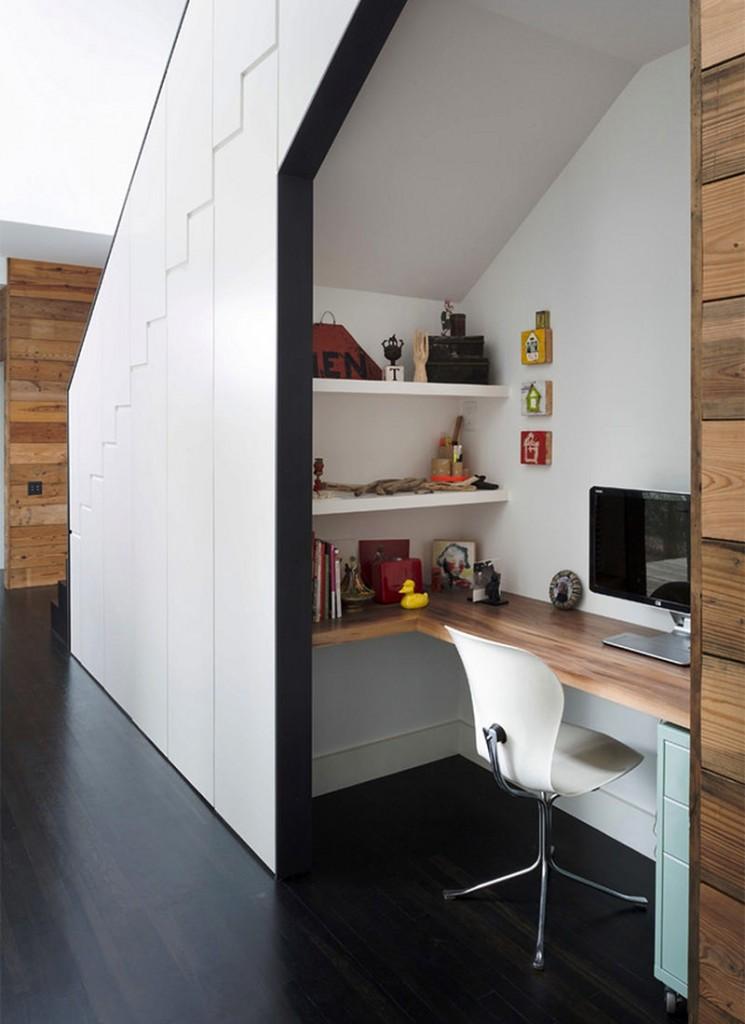 5 id es pour am nager un bureau dans un petit espace. Black Bedroom Furniture Sets. Home Design Ideas