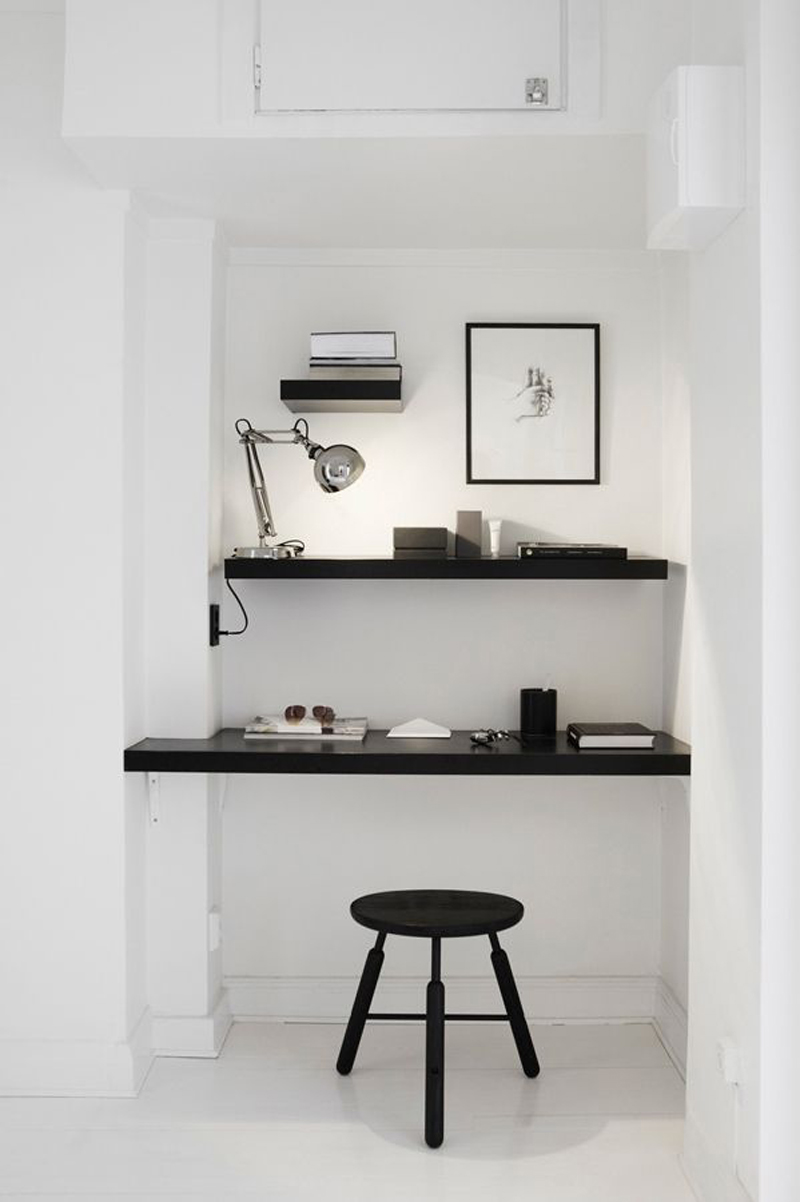 5 Idées Pour Aménager Un Bureau Dans Un Petit Espace