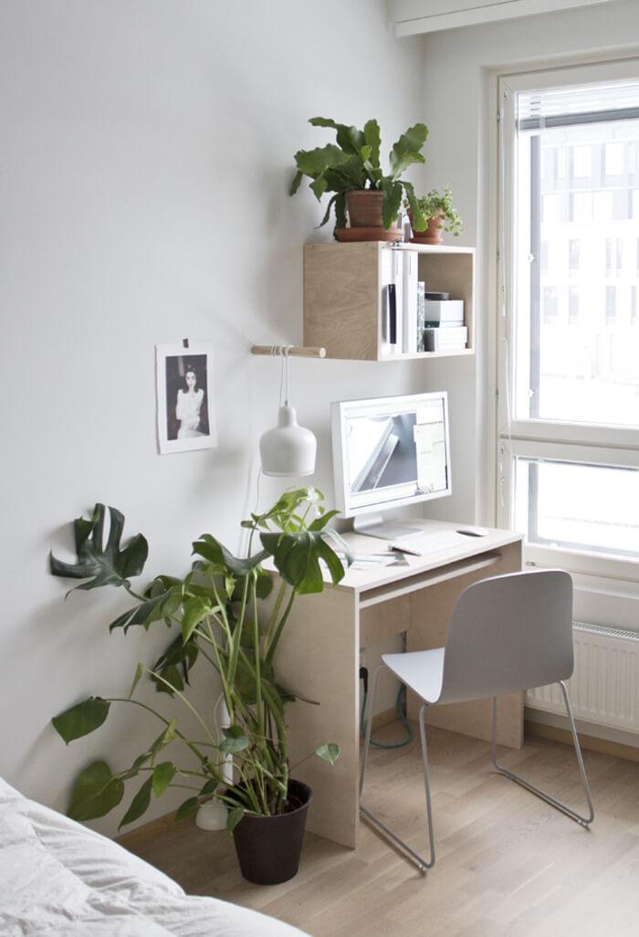 Aménager un coin bureau dans une chambre
