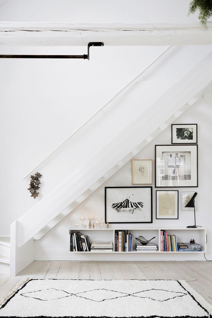 Aménager espace sous escalier