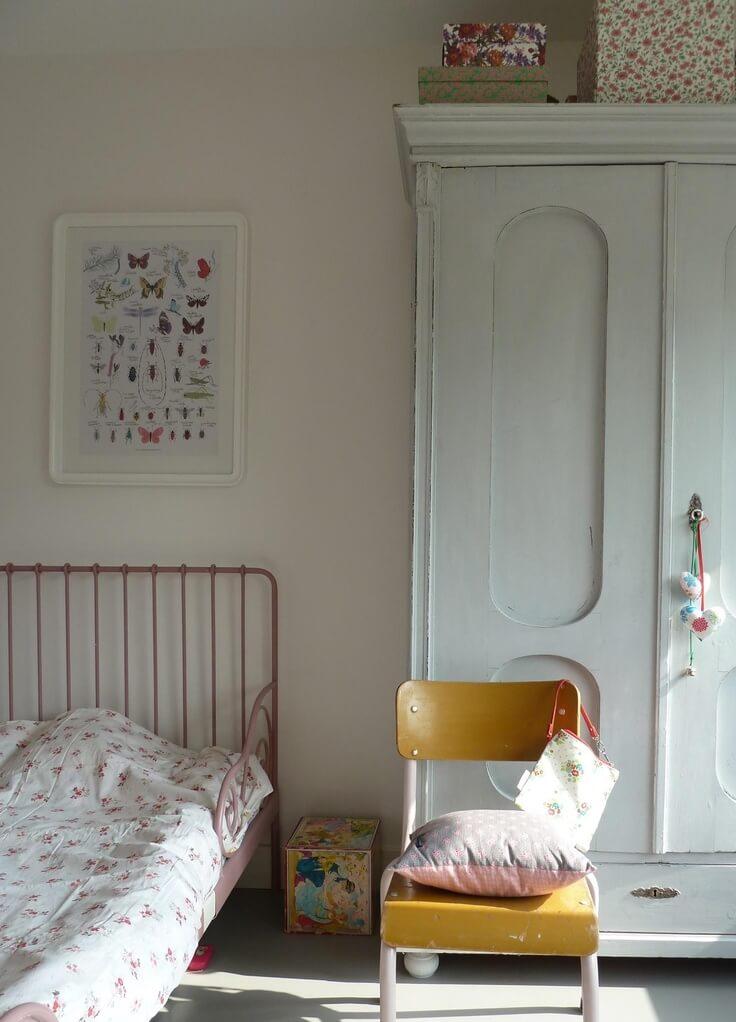 Décoration chambre d'enfants vintage