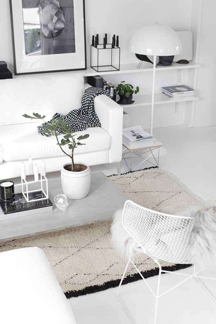 10 intérieurs style scandinave avec du parquet blanc