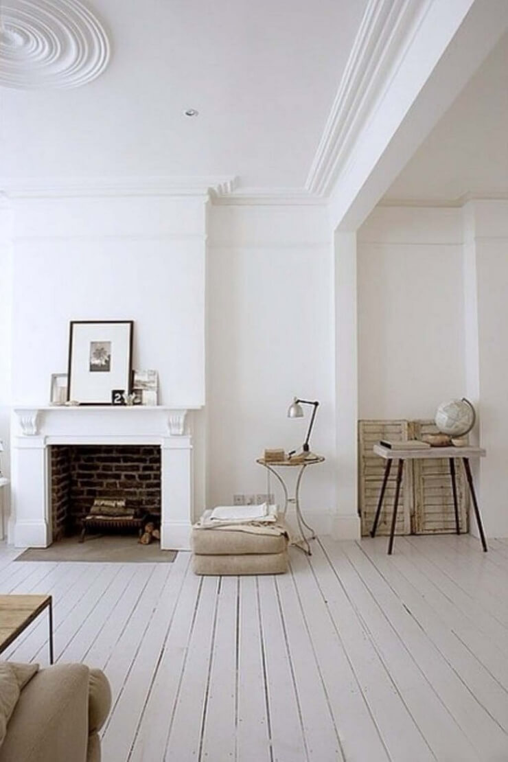 10 int rieurs avec du parquet blanc frenchy fancy - Interior painting ideas pinterest ...