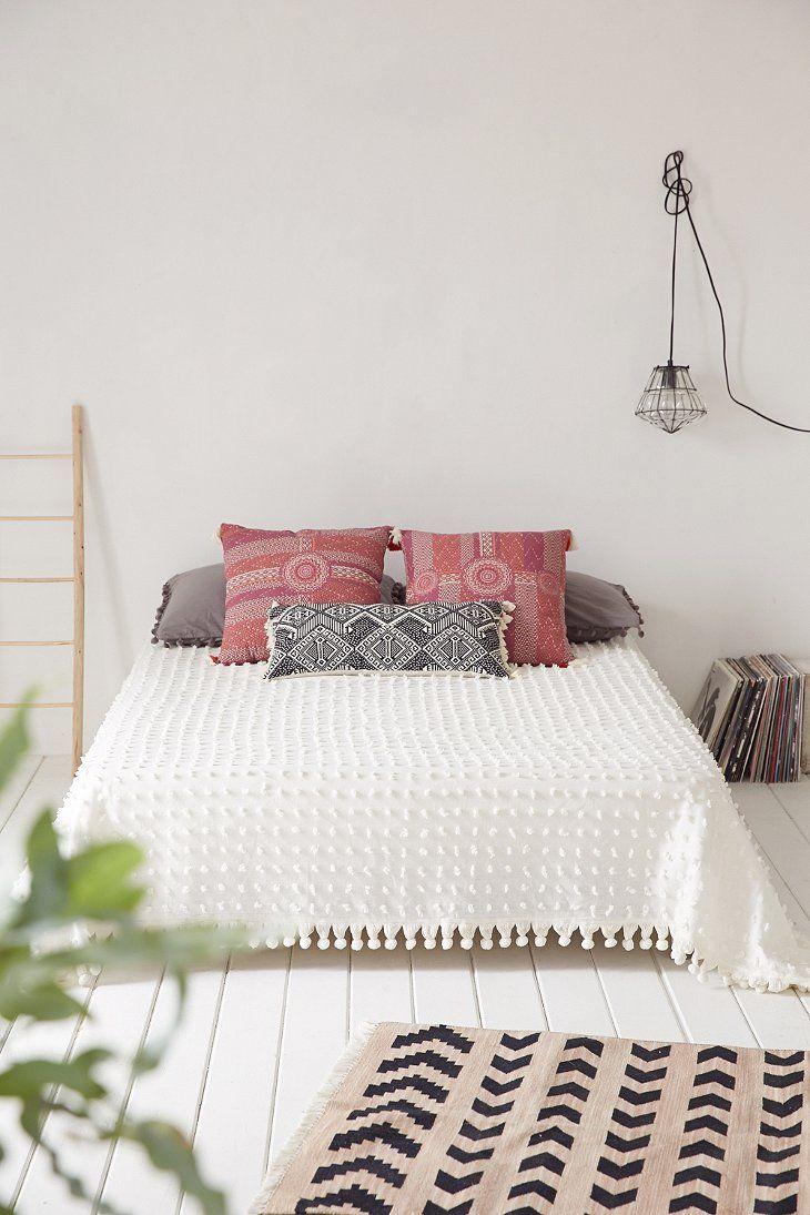 Linge de lit décoration style bohème