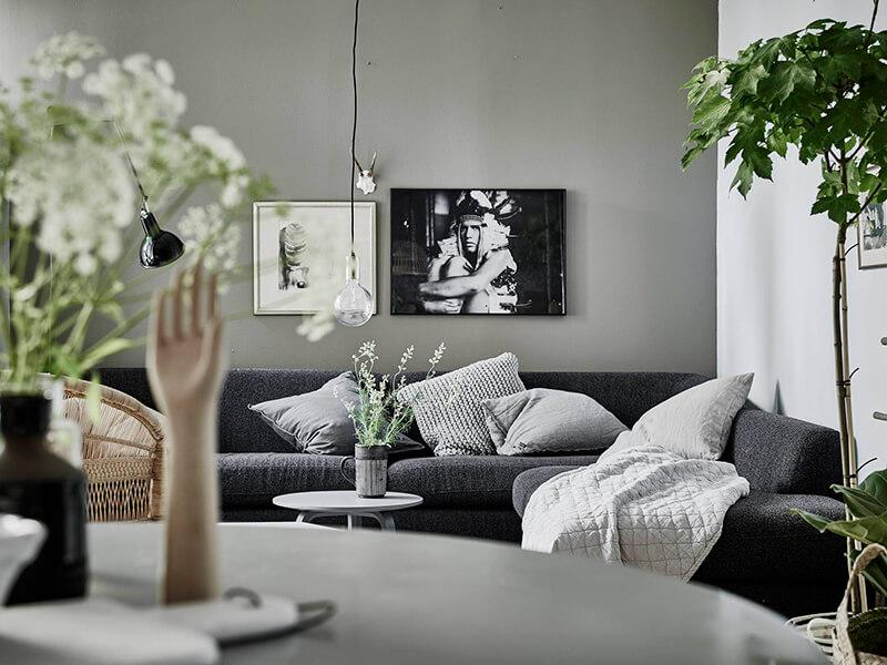 Vert de gris frenchy fancy - Decoration mur interieur peinture ...