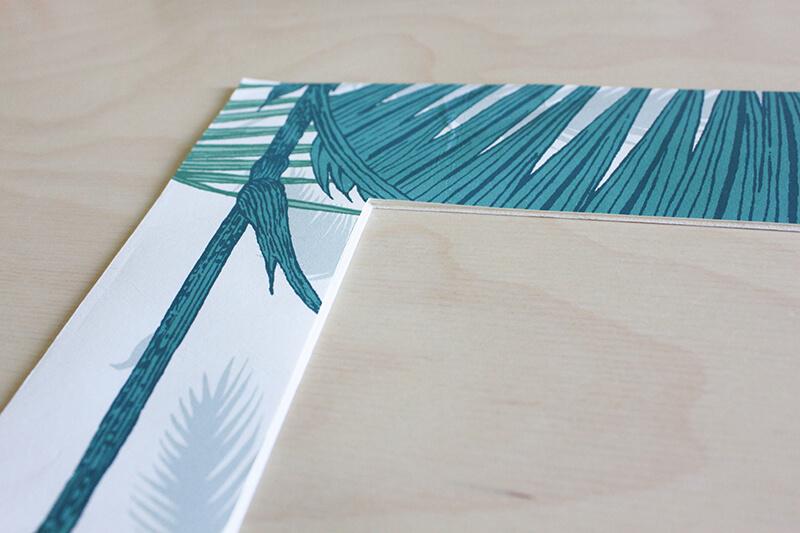 Papier peint motif tropical