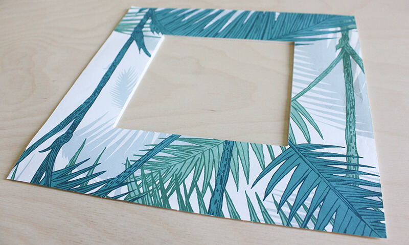 Papier peint motif jungle