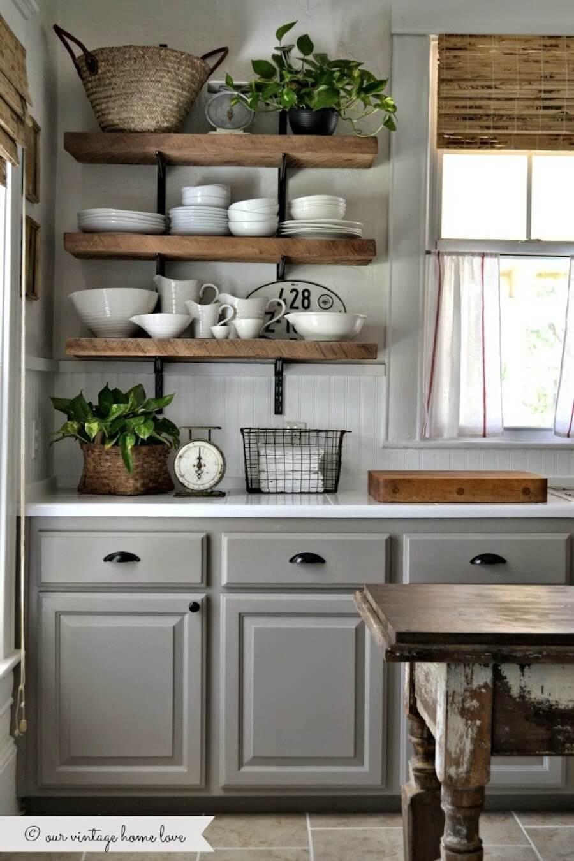 15 cuisines avec des étagères ouvertes - Frenchy Fancy
