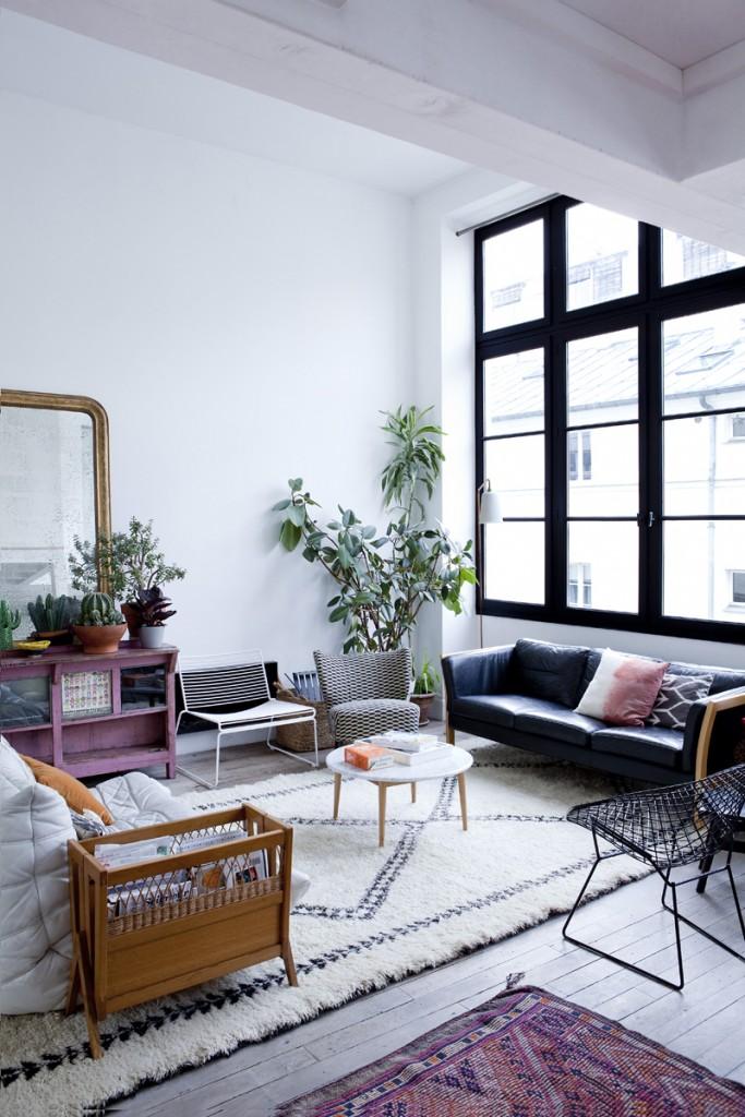 Tapis berbère et décoration d'intérieur classique