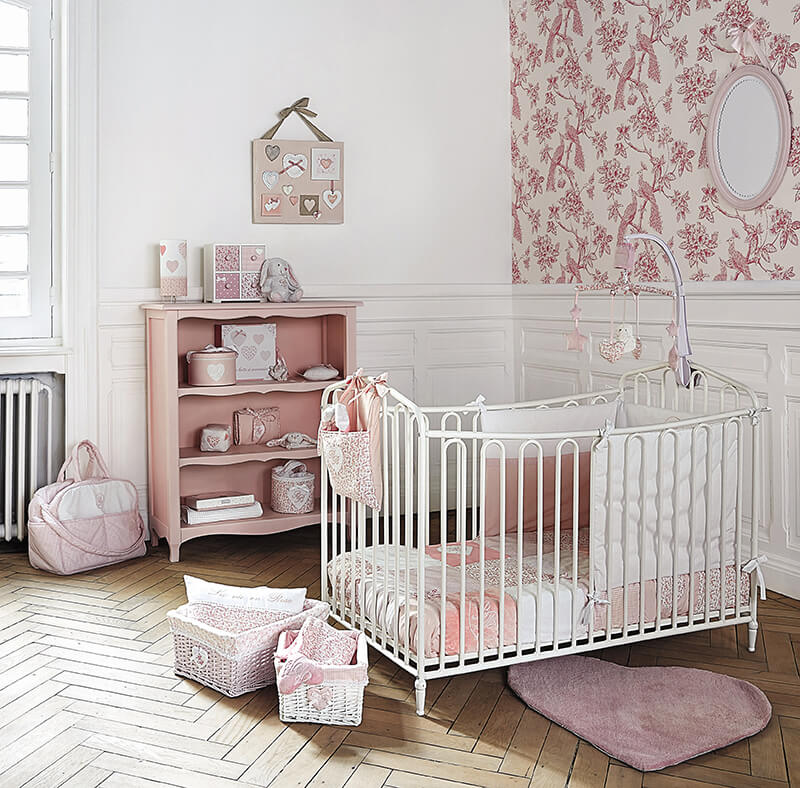 Maisons du monde la collection kids frenchy fancy for Decoration chambre de bebe fille