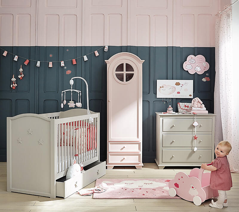 Maisons du monde la collection kids frenchy fancy for Decoration maison chambre