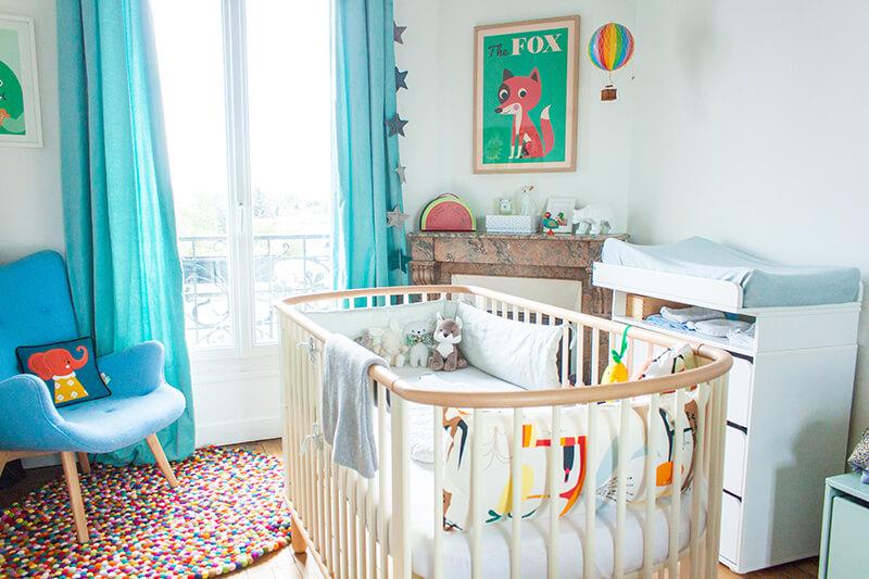 At home la chambre de notre baby boy ♥ frenchy fancy