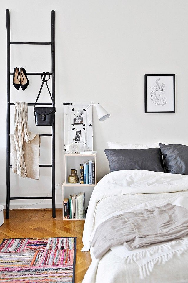 Chambre décoration scandinave