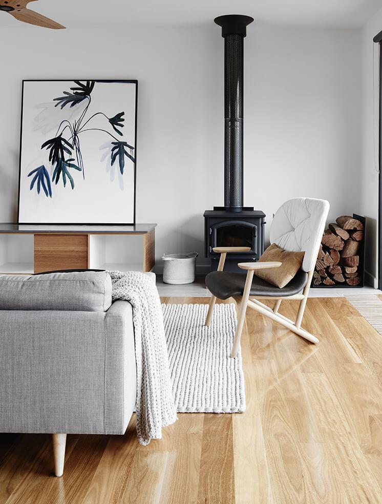 Intérieur moderne et cosy