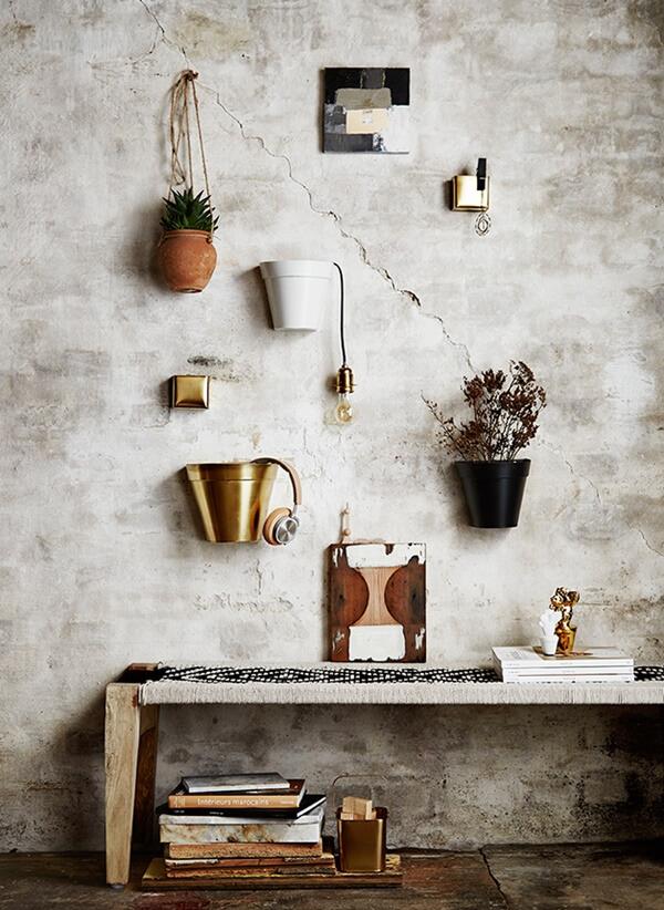 Tendance : les objets de décoration en laiton doré