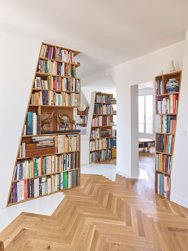 Réalisation appartement par des architectes