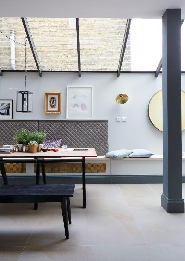 Rénovation maison d'architecte avec verrière style atelier
