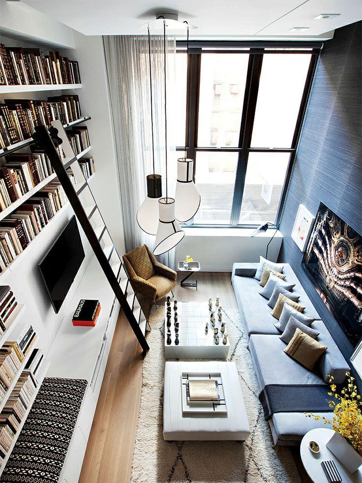 Créer une bibliothèque sur toute la hauteur d'un mur