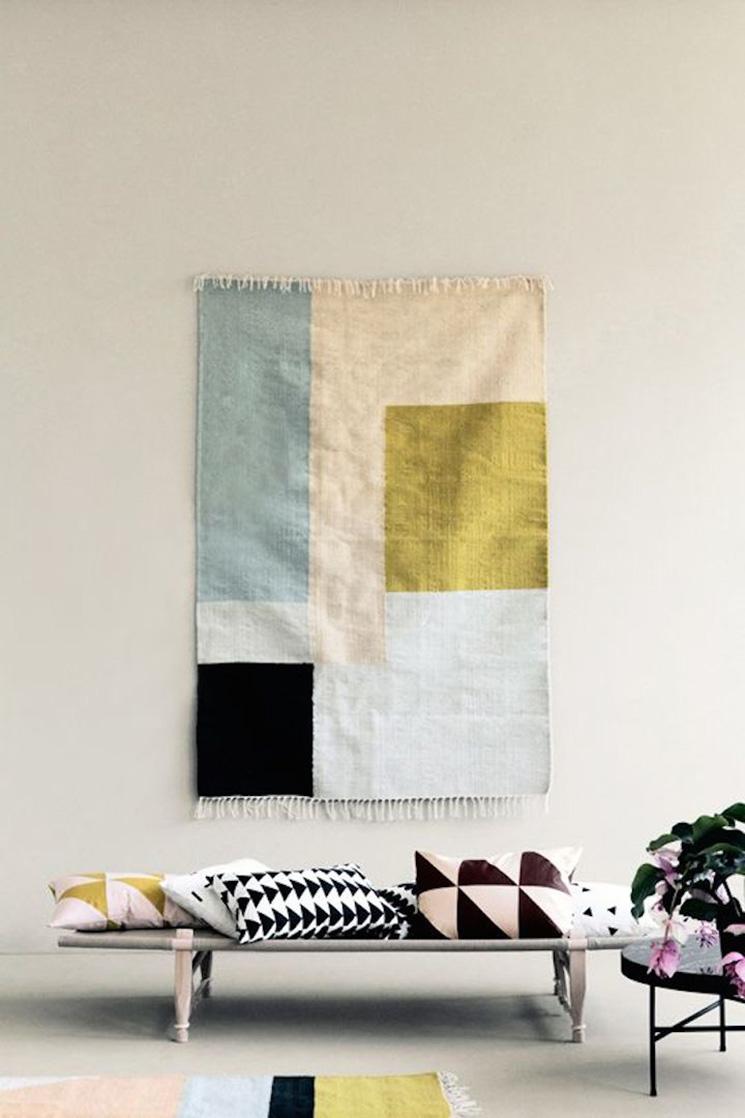 Tendance : accrochez vos tapis aux murs - FrenchyFancy