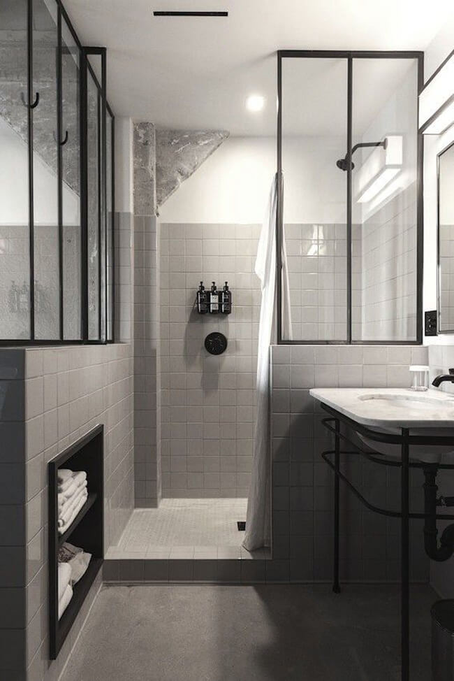 Inspiration : une douche à litalienne - Frenchy Fancy