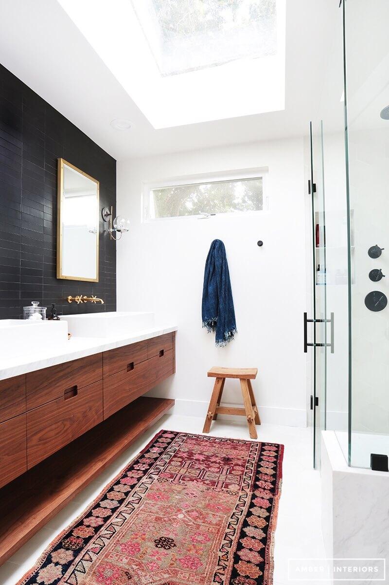 Salle de bain moderne et chic