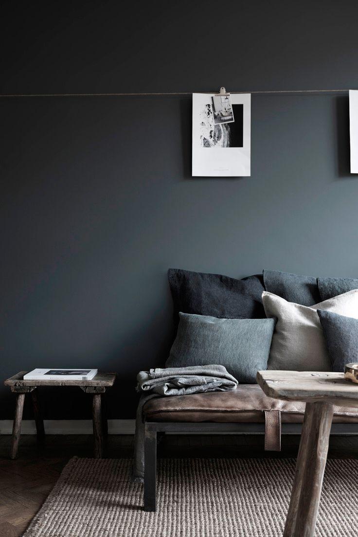 Peindre un mur en noir