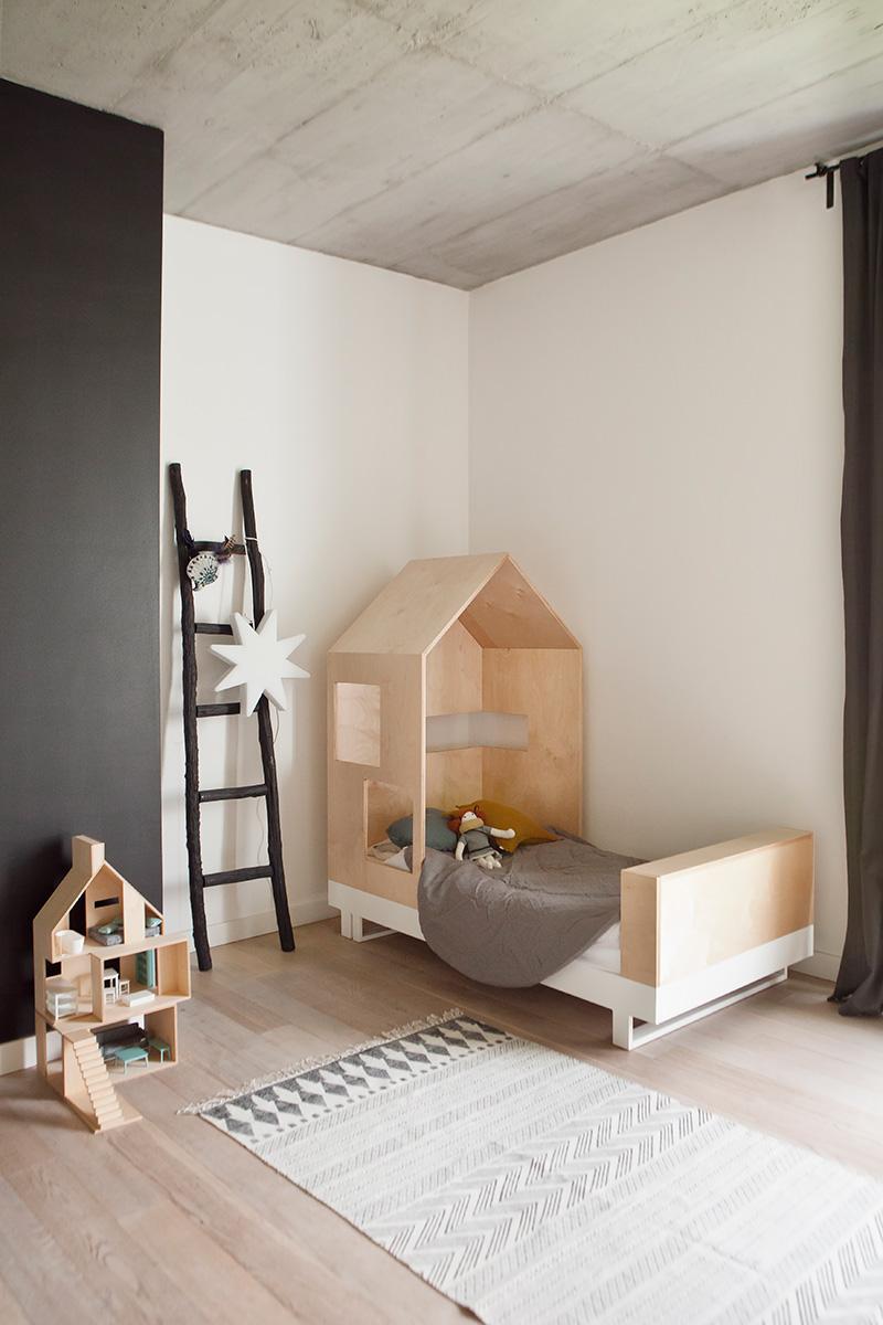 Lit enfant design maison Kutikai