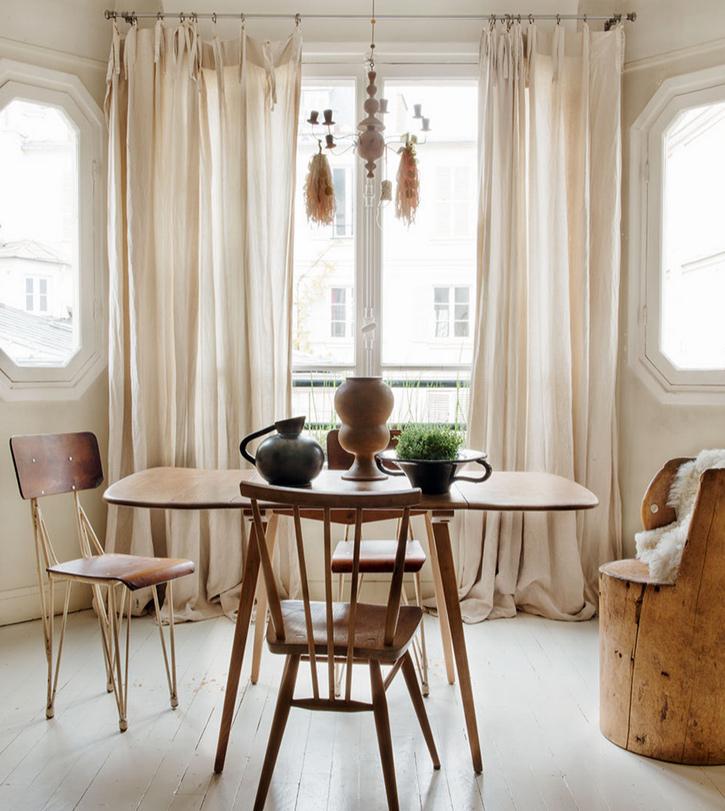 Table de repas style nordique