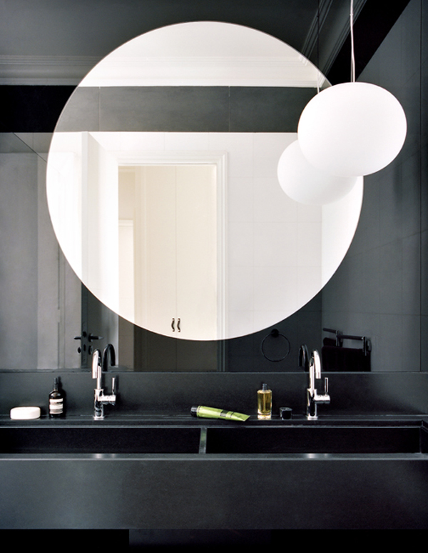 Salle de bain appartement parisien