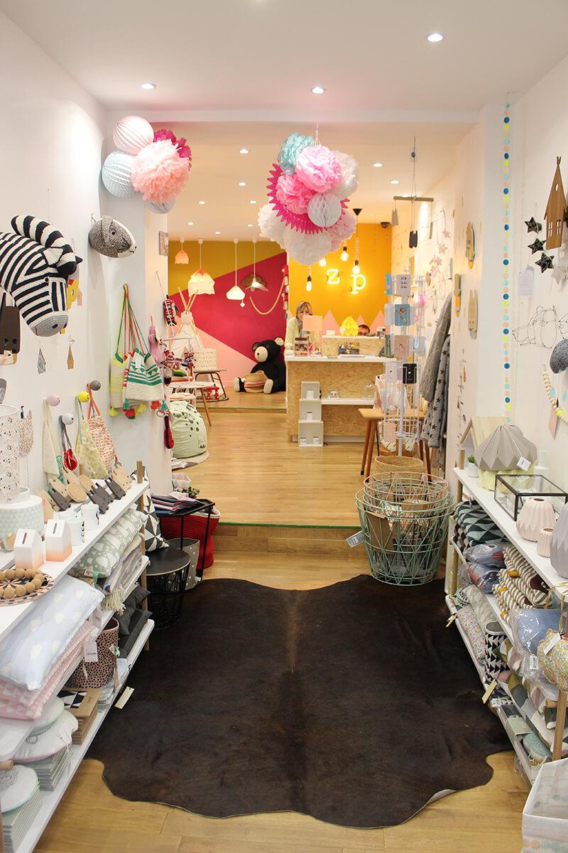 Deco Chambre Zebre : Shopping déco le zèbre à plumes rouen frenchy fancy